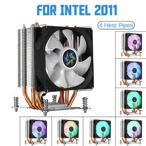4 Copper Heatpipe CPU Cooler f