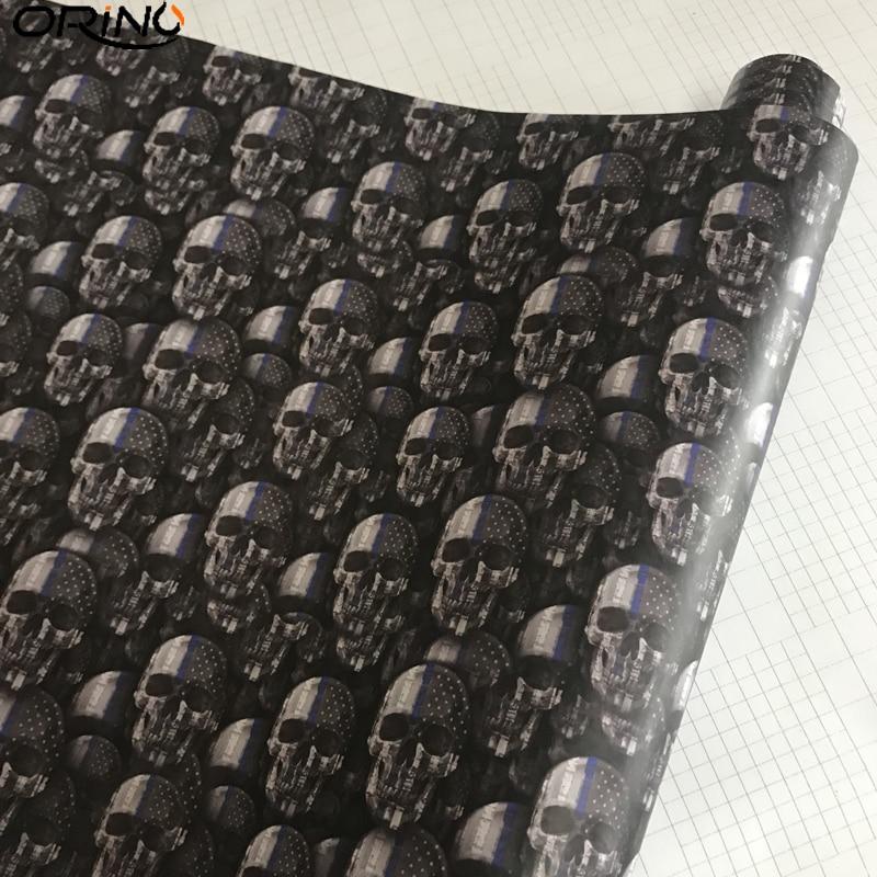 Skull Sticker Vinyl Wrap-2