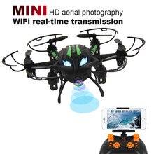 Mini RC Quadcopter 2.4GHz 4CH 6-Axis Gyro 3D UFO Drone FPV With WIFI Camera FPV Mini Drone Headless Drone RC toys