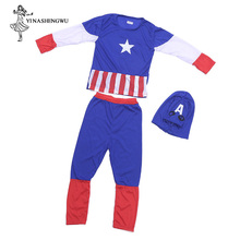 Cosplay Costume with Mask Superhero Suit Anime Boy Kid One Piece Full Bodysuit Halloween kid Costumes for party