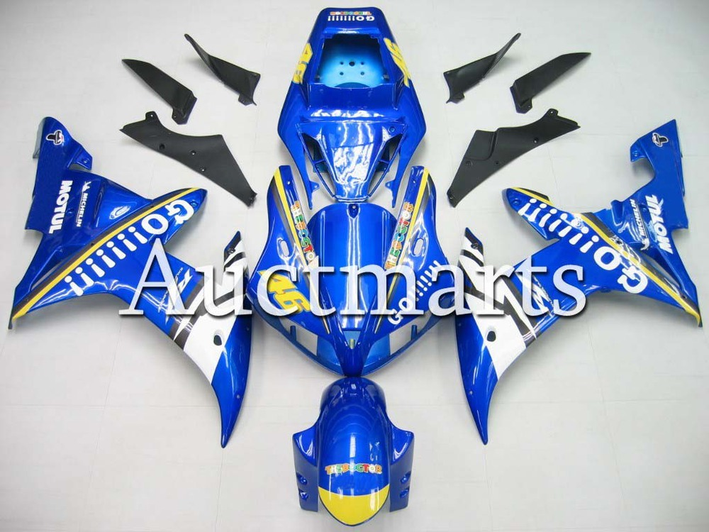 For Yamaha YZF 1000 R1 2002 2003 YZF1000R inject ABS Plastic motorcycle Fairing Kit YZFR1 02 03 YZF1000R1 YZF 1000R CB03 for yamaha yzf 1000 r1 2007 2008 yzf1000r inject abs plastic motorcycle fairing kit yzfr1 07 08 yzf1000r1 yzf 1000r cb02