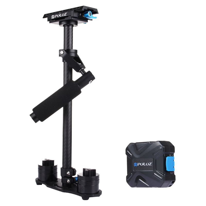 Puluz S60T Professional Handheld Stabilizer For Canon Nikon Sony DSLR Mini Steadycam Steadicam Camcorder Digital Camera Video professional s60 66cm handheld camera stabilizer for camcorder digital camera canon nikon sony dslr mini steadycam t150 3