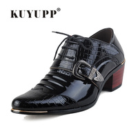 Patent Leather Oxford Shoes For Men Luxury Brand Lace Up Men Wedding Shoes Cow Muscle Pointed