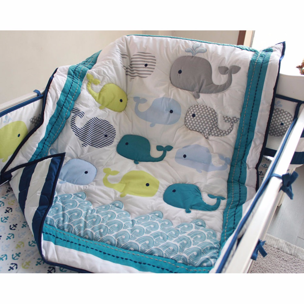 1Pcs High Quality Cotton 33''X42'' Baby Quilt Delicate Cartoon Baby Bedding Set Crib Bedding For Newborn Baby Girl Boy