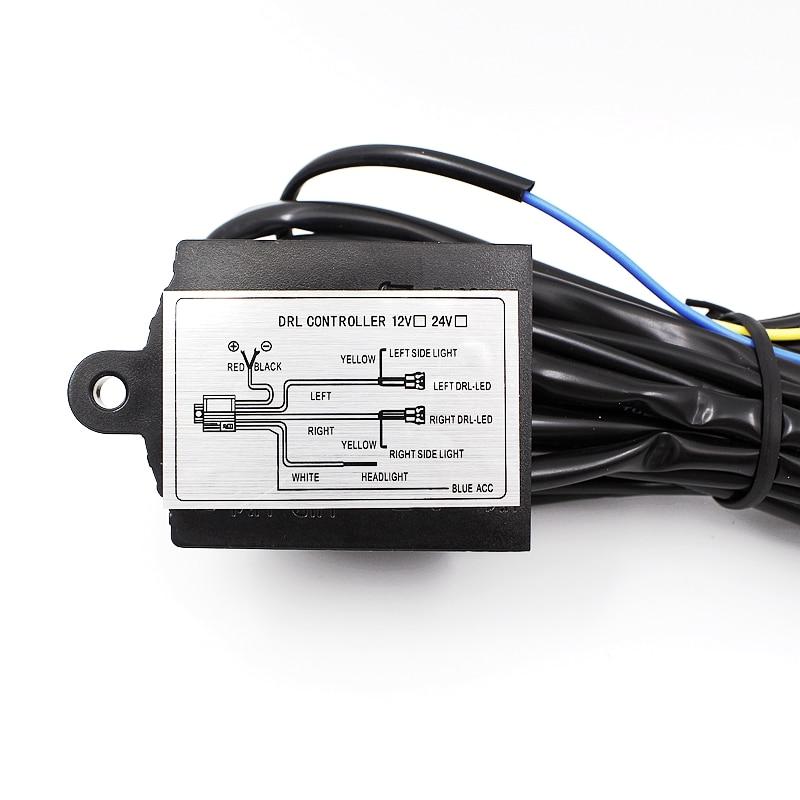 Tak Wai Lee 10Pcs / Çox funksiyanı təyin edin DRL Gündüz - Avtomobil işıqları - Fotoqrafiya 2