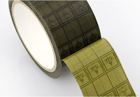 1x 5cm, 50mm*36Y Single Side Adhesive ESD Anti Static Grid Tape for Electronics Parts Components Bag Sealing