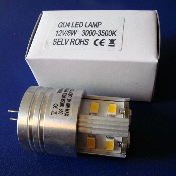 High Quality Ac/dc12v 6w G4 Led Bulbs,g4 Led Decorative Light,gu4 Led Crystal Light Ac12v Led G4 Lights Free Shipping 50pcs/lot Volume Large Lights & Lighting