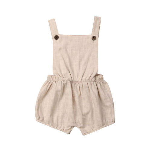 Kid Clothes Newborn Baby Boys Summer Sleeveless Romper Jumpsuit Outfits Sunsuit Clothes Size 0-3Y