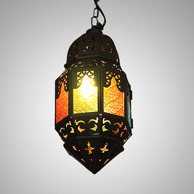 Bohemia Black coffee shop pendant lights Southeast pot color garden restaurant coffee clothing shop pendant lamp ZA BXY27 black coffee leeds