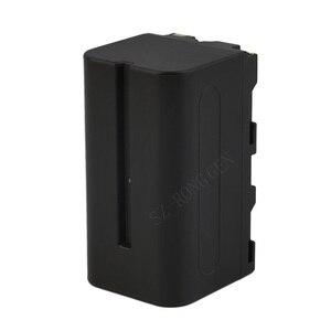 Image 4 - NP F550 F750 F970バッテリーYN300Air YN300 iii YN600L ii YN900 YN360 YN1200 ledライトviltrox VL200