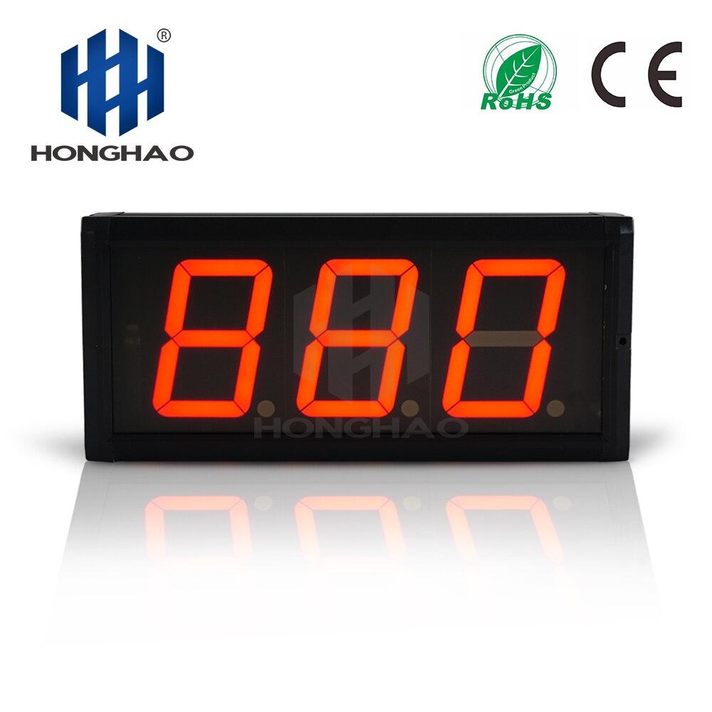 Honghao Электрический таймер обратного отсчета часы светодиодный 100 день Обратный отсчет календарь новый год