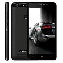 LEAGOO KIICAA GÜÇ Telefon Android 7.0 MTK6580A Quad Core 5.0 inç 2 GB RAM 16 GB ROM 8MP Çift Arka Kameralar Parmak Izi Smartphone