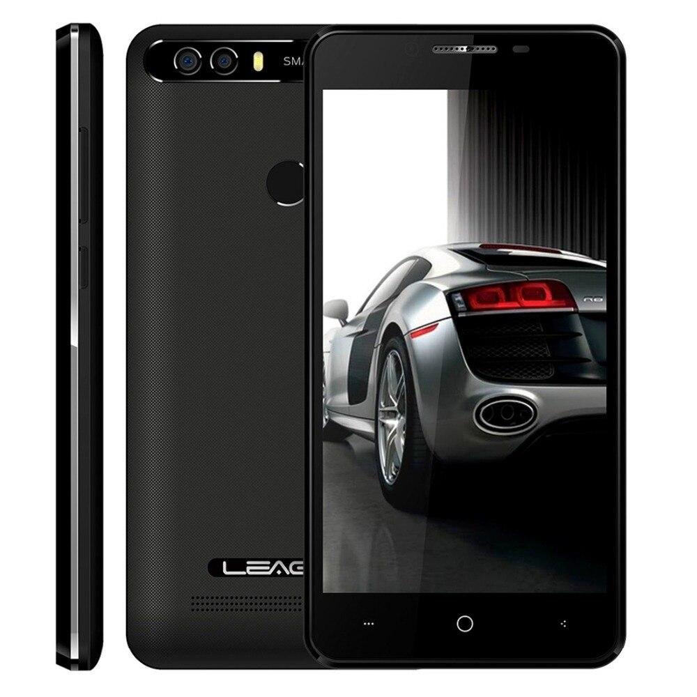 LEAGOO KIICAA PUISSANCE Téléphone Android 7.0 MTK6580A Quad Core 5.0 pouce 2 gb RAM 16 gb ROM 8MP Double Arrière caméras D'empreintes Digitales Smartphone