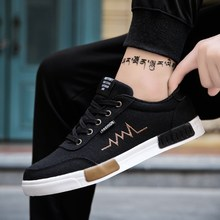 New Mens Shoes Spring Summer Canvas Shoes Men Sneakers Low