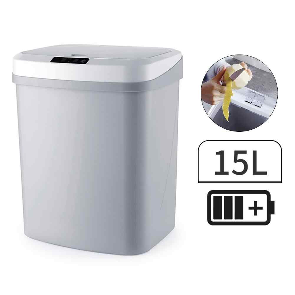 Infrared Motion Sensor Trash Can