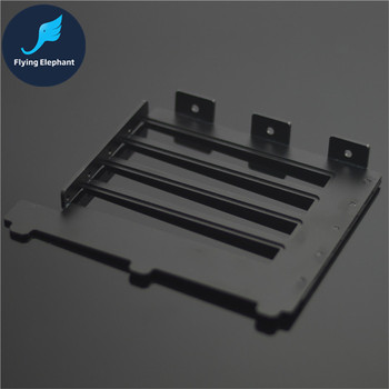 Soporte de tarjeta de gráficos VGA soporte de aluminio VGA tarjeta gráfica soporte frontal convertido