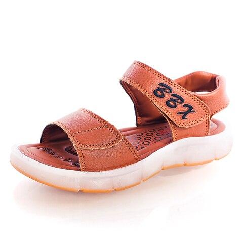 unclejerry luz led sandalias para meninos