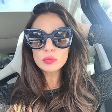 Okulary Przeciwsłoneczne UV 400 Kobiece Różne Odcienie