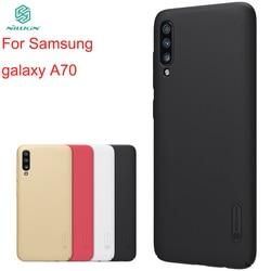 Do Samsung Galaxy A70 A10 A20 A30 A40 A50 A60 A70 A80 A90 skrzynki pokrywa NILLKIN wyposażone przypadki Super matowe tarcza