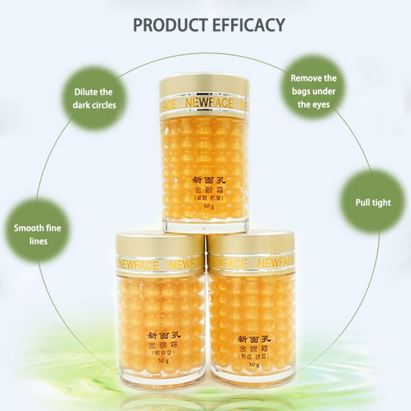 30g Eye Cream Face Gold Essence Granule Anti Repairing Dark Circles Bag Wrinkles For Night women Anti Puffiness