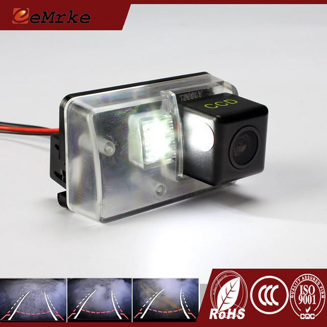eeMrke CCD HD Rear Camera For Citroen C5 RD TD C6 intelligent Dynamic Guidance Trajectory Tracks Car Camera