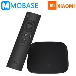 [100% Original ] Xiaomi Mi Box 3 Android 6.0 TV Box 2G/8G Dual WiFi Smart TV IPTV Media Player Set Top Box Plenty of Stock