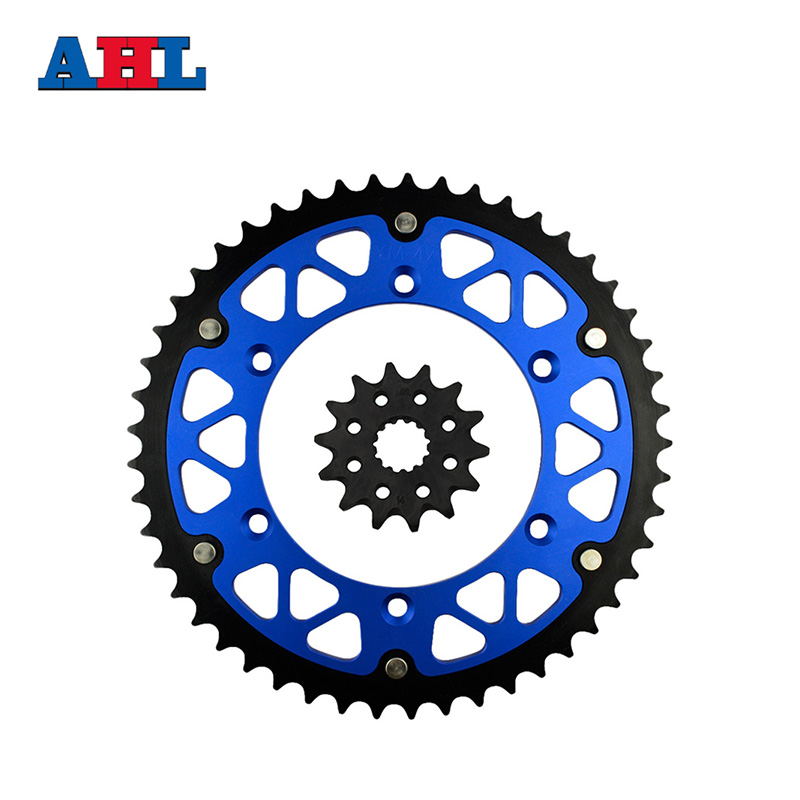 Motorcycle Parts 49-14 T Front & Rear Sprockets Kit For YAMAHA WR450F WR 450F WR450 WR 450 F 2003-2014 Gear Fit 520 Chain