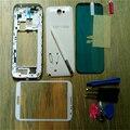 Telefone célula original substituição integral da habitação case capa + tela de vidro da lente +-s pen para samsung galaxy note 2 n7100 + ferramentas com o logotipo
