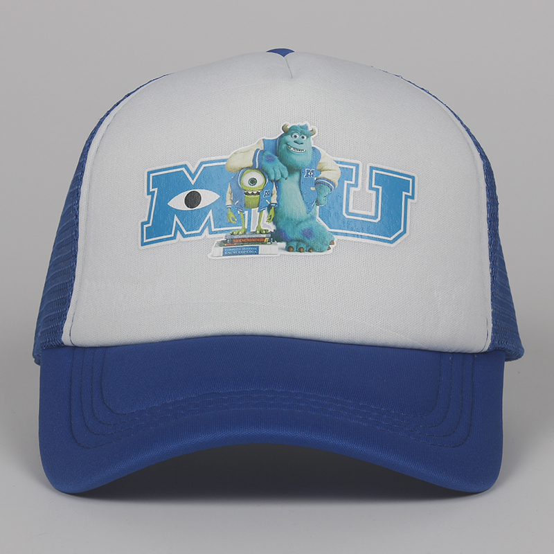 Monsters University Sulley Mike Truck Baseball Caps Mu Letters Unisex Pixar Movie Blue Hat Adjustable Hip Hop Caps Snapback Hat Men S Baseball Caps Aliexpress
