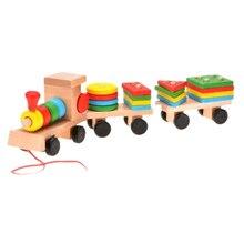 Детские Деревянные Поезд Развивающие игрушки