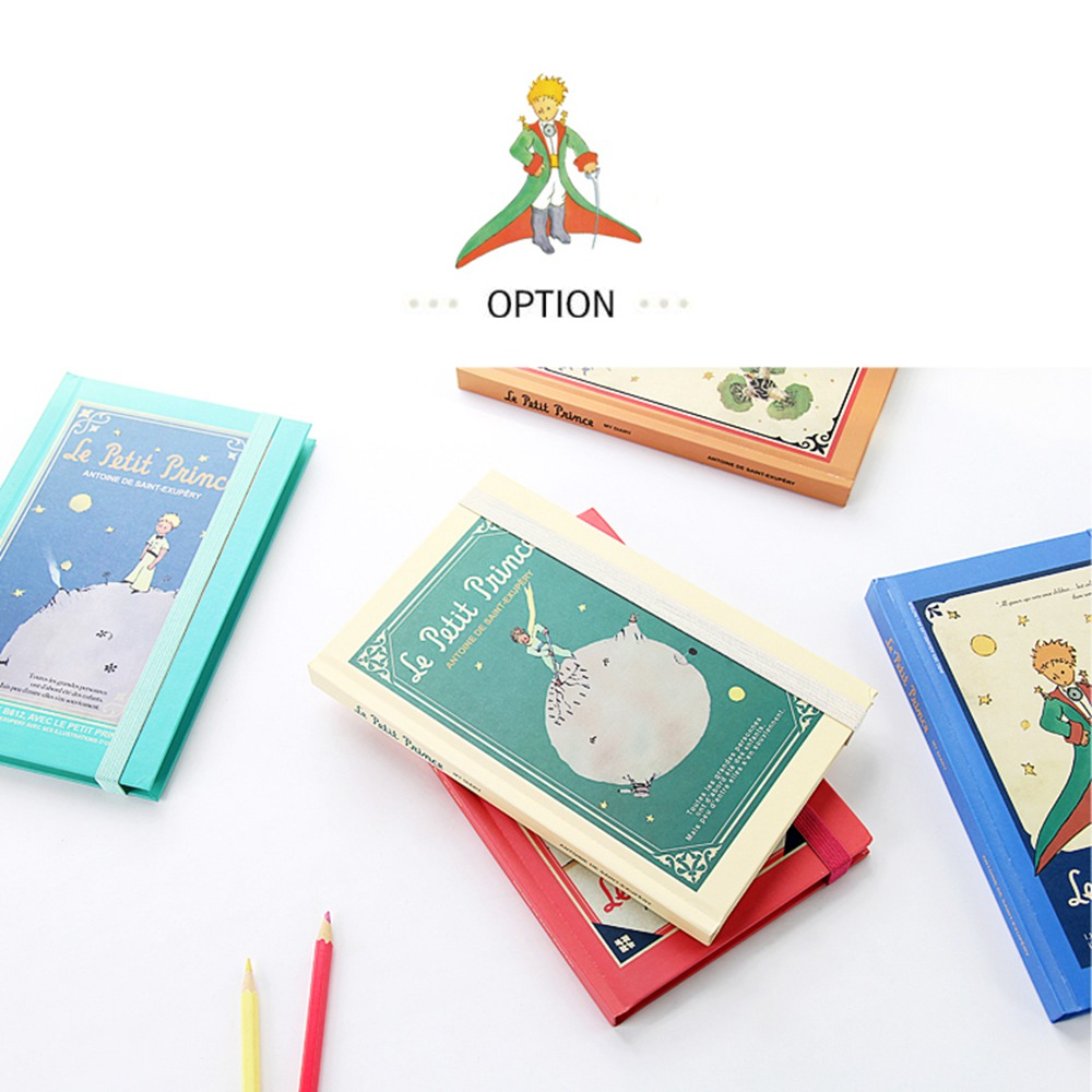 New Planner  Vintage Hardcover The Little Prince Diary Notebook With Monthly/Weekly Planner Schedule Journal School Gift