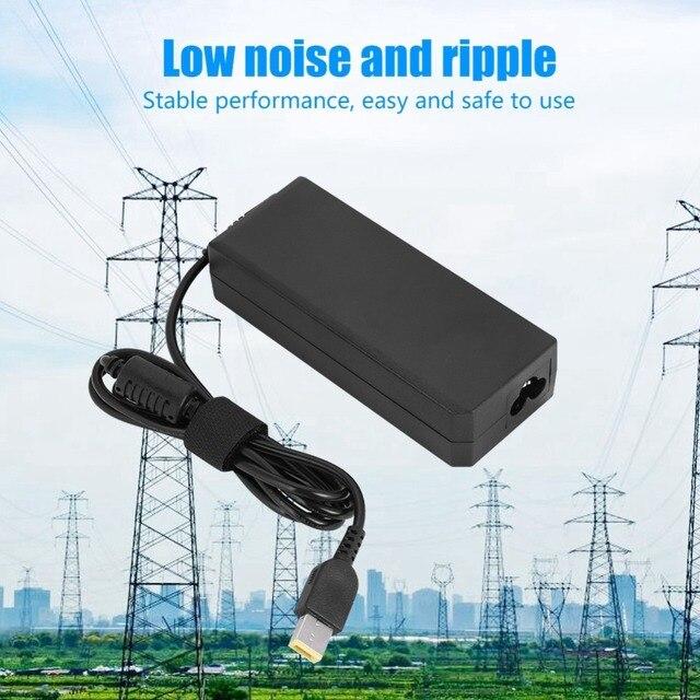 20 V 3.25A 65 W AC Máy Tính Xách Tay Máy Tính Bảng Power Adapter Sạc cho Lenovo Cung Cấp Điện 100-240 V cho MỸ EU Cắm
