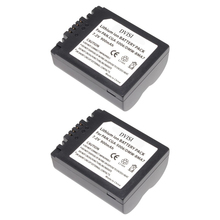 2Pc CGA S006 CGR CGA S006E S006 S006A BMA7 DMW BMA7 Replaceable Battery for Panasonic DMC FZ7 FZ8 FZ18 FZ28 FZ30 FZ35 FZ38 FZ50