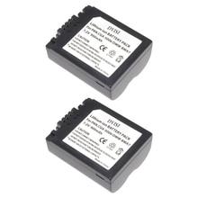2Pc CGA S006 CGR CGA S006E S006 S006A BMA7 DMW BMA7 Vervangbare Batterij voor Panasonic DMC FZ7 FZ8 FZ18 FZ28 FZ30 FZ35 FZ38 FZ50