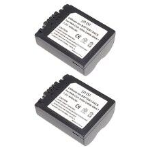 Batería reemplazable CGA S006 CGR CGA S006E S006 S006A BMA7 DMW BMA7 para Panasonic DMC FZ7 FZ8 FZ18 FZ28 FZ30 FZ35 FZ38 FZ50, 2 unidades