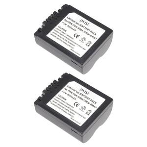 Image 1 - Batería reemplazable CGA S006 CGR CGA S006E S006 S006A BMA7 DMW BMA7 para Panasonic DMC FZ7 FZ8 FZ18 FZ28 FZ30 FZ35 FZ38 FZ50, 2 unidades