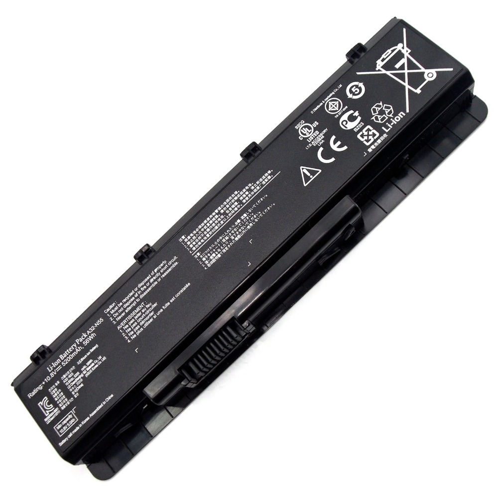 Laptop Battery For Asus N55SF Series N55SL N75 N75E N75S N75SF N75SJ N75SL N75SN N75SV A32-N45 A32-N55 07G016HY1875