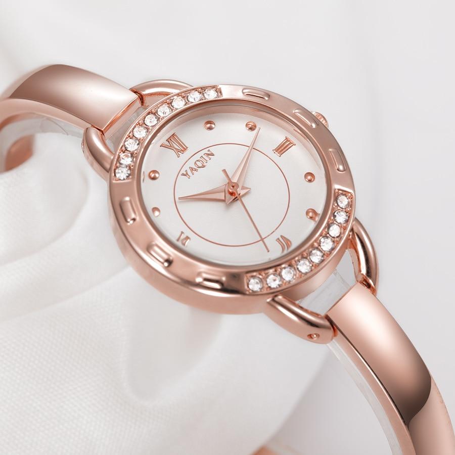 Új divat luxus márkájú nők nézni acél öv trend egyszerű - Női órák