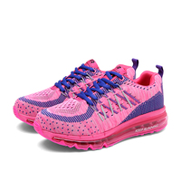 Brand New Couples Sneakers Breathable Air Mesh Running Shoes Weaving Outdoor Athletic Outdoor Zapatillas Sport Jogging
