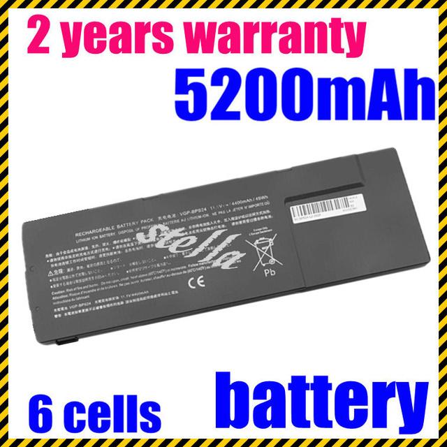 Vgp-bps24 jigu 6 células nova bateria do portátil para sony vaio série vpcsa vpcsb sa sb sc sd se 49wh/4400 mah