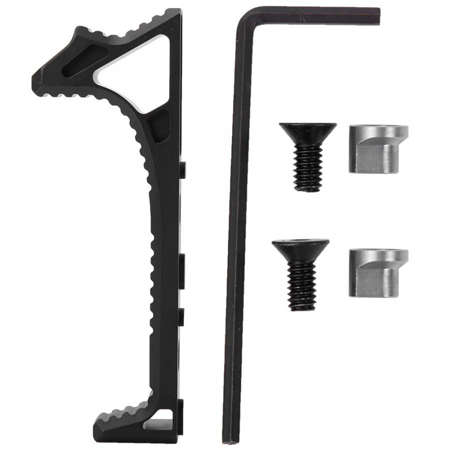 Image 2 - Tactical inming8 tactical grip triangle hand block MINSR fishbone refitting upgrade accessories Keymod MLOK CNC front grScope Mounts & Accessories   -