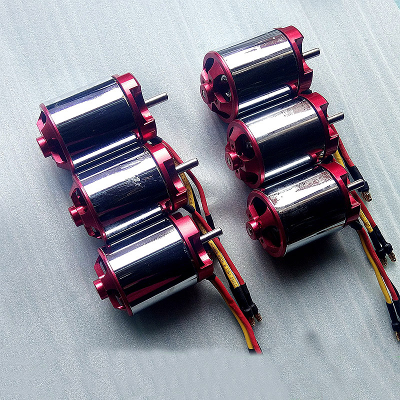 1PCS High Power 4260 Motor Strong Magnetic High Torque Brushless DC Motor 2-6S 600KV Motors for RC Car/Boats/ Fixed Wing 1pcs underwater thruster brushless motor dc24v high torque waterproof motor 350kv 4023 micro motors for rc airplane parts