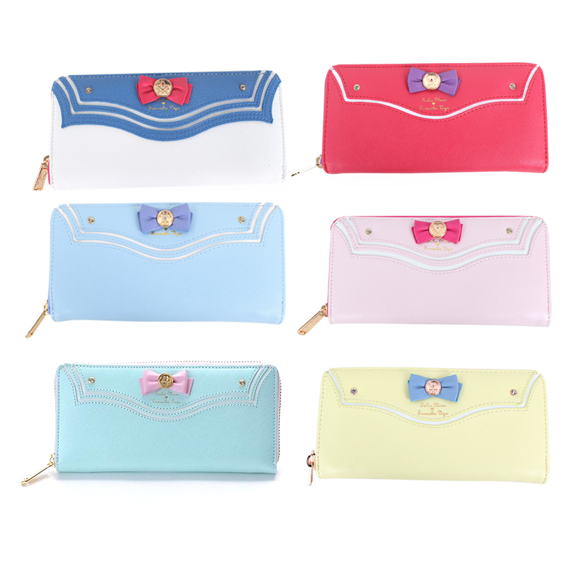 Princess sweet lolita wallet Japanese girl soldier wallet female long zipper bow cute and fashion lady bag Long Purse WW027 sweet girl s sandals with bow and velcro design