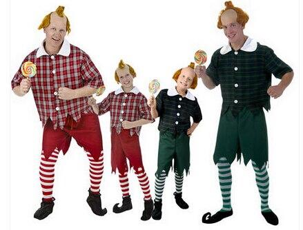 Pour carnaval top qualité Bayi chaud le magicien d'oz fête d'halloween nain Costume adulte enfants cosplay ball costume