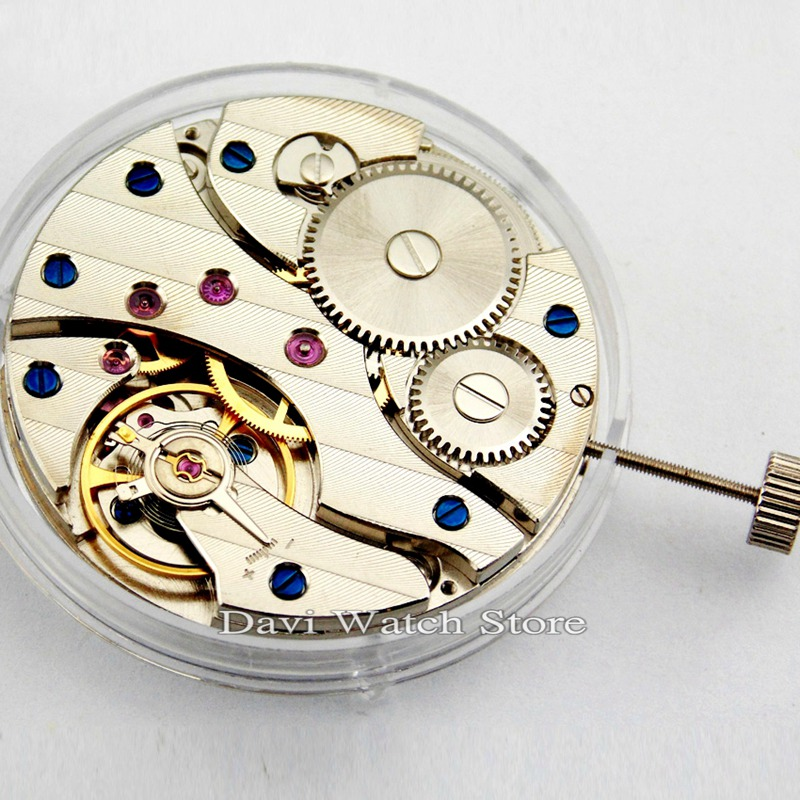 17Jewels ST36 Mechanical Hand Winding 6497 Watch Movement Wholesale Discount