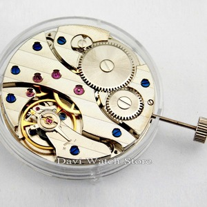 17Jewels ST36 mechanical hand winding 6497 watch movement Wholesale discount(China)