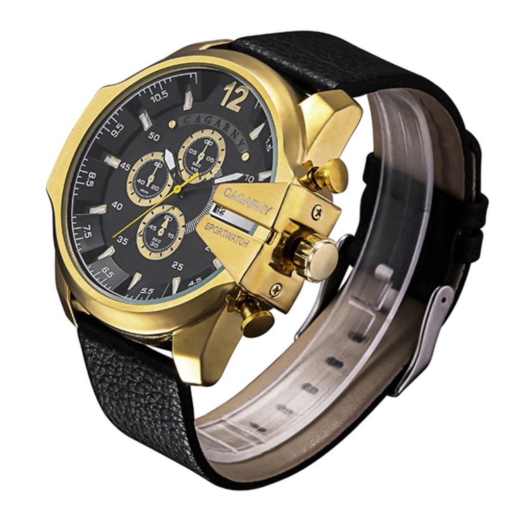 CAGARNY órák férfi luxus márka nagy tárcsázás sportóra - Férfi órák - Fénykép 5