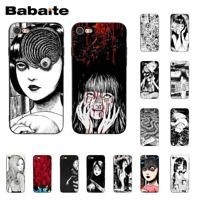 Babaite Junji Ito Tees Horror Telefoon Case Voor Iphone 11 Pro 11Pro Max 8 7 6 6S Plus X xs Max 5 5S Se Xr
