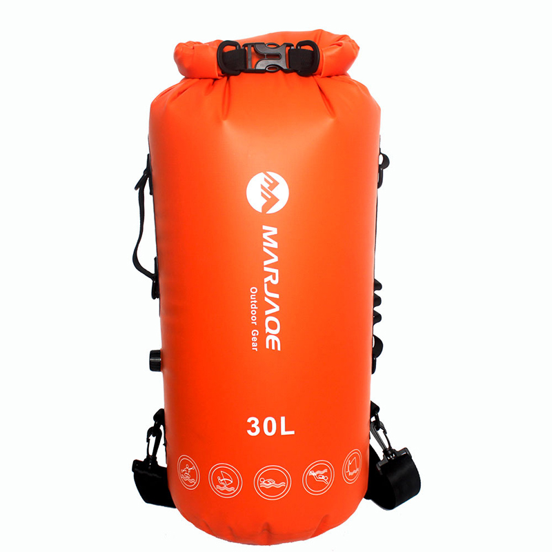 30L Outdoor PVC Waterproof Dry Sack Storage <font><b>Bag</b></font> Diving Rafting Sports Kayaking Canoeing Swimming <font><b>Bag</b></font> Backpack Travel Kit 5 Color