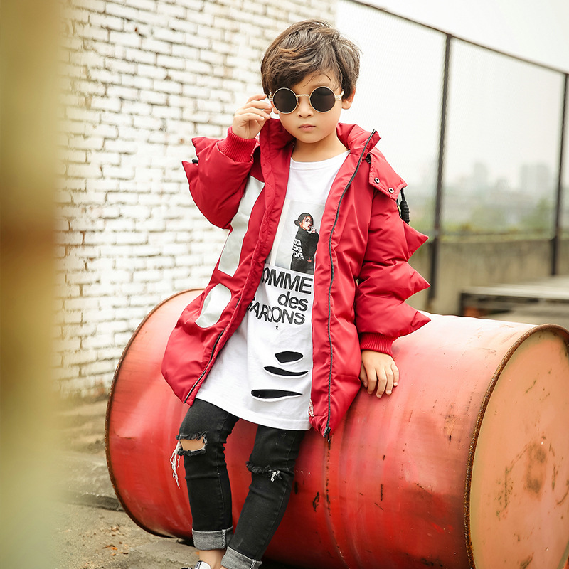 2-10 years Boys Winter Jackets For Boys Thicken Snowsuit Children Down Coats Outerwear keep Warm Tops Clothes Big Kids Clothing fashion girl thicken snowsuit winter jackets for girls children down coats outerwear warm hooded clothes big kids clothing gh236
